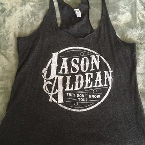 Jason Aldean 'They Don't Know' Concert Tank